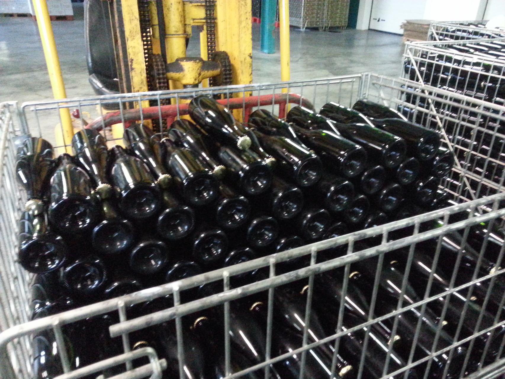 bouteilles à filtrer