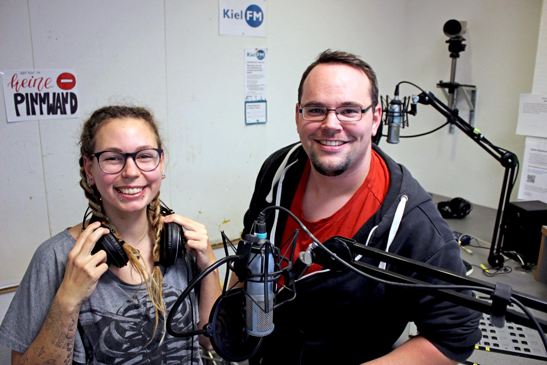 Coco & Erik im Radiostudio - Oktober 2020