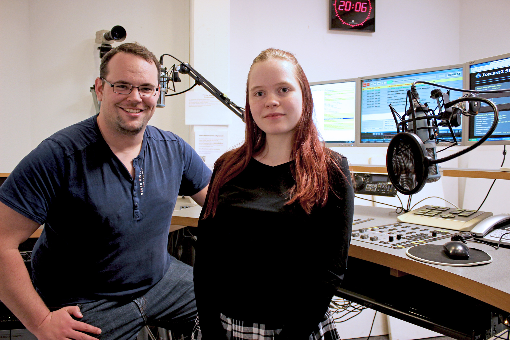 Erik & Madita im Radiostudio - November 2020