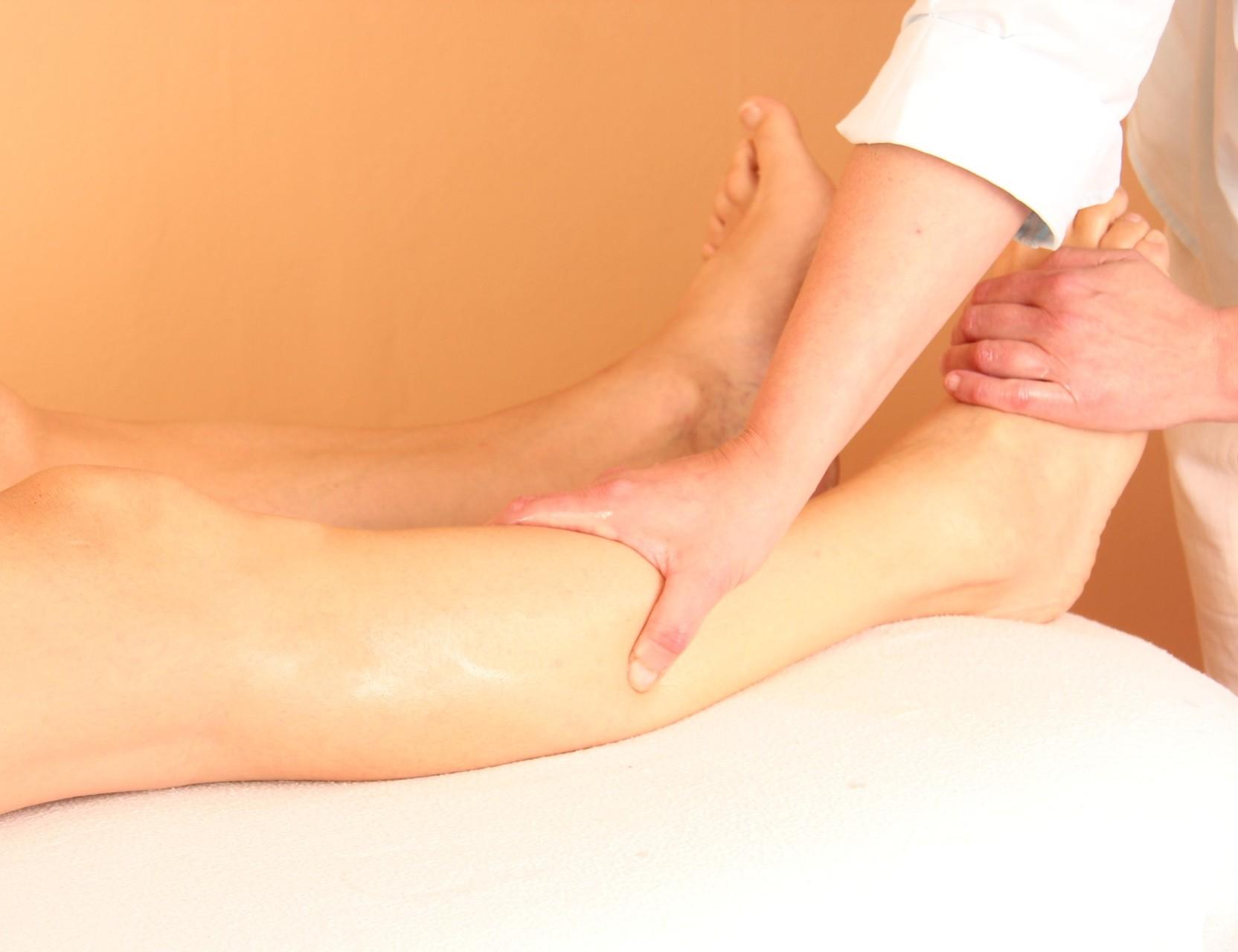 Foto  Fußmassage