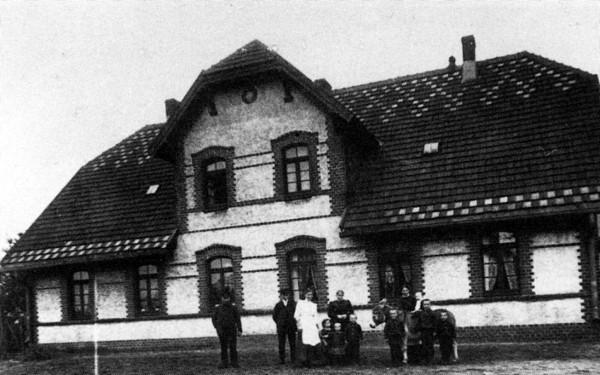 Wohnhaus des Futtermeisters Eigner und des Schmiedemeisters Poggensee