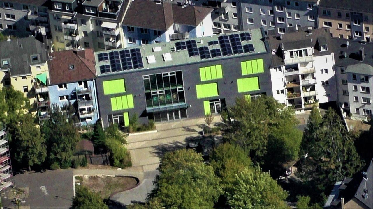 PV-Anlage Windstr. 20, NW-Trakt Else-Laske-Schüler Gesamtschule, Wuppertal