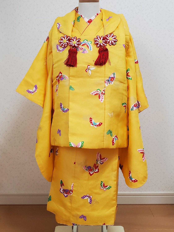 8黄色の蝶