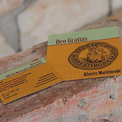 Kloster Marienrode Weinetikett selbstklebend