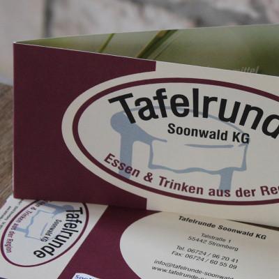 Tafelrunde Soonwald KG Flyer inkl. Gutschein