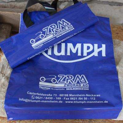 ZRM AG Mannheim Kunststofftragetasche Triumph