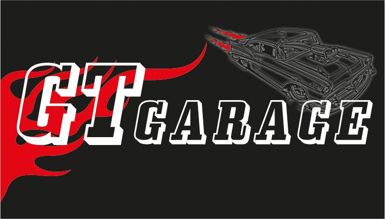 Logoentwicklung GT Garage Speyer