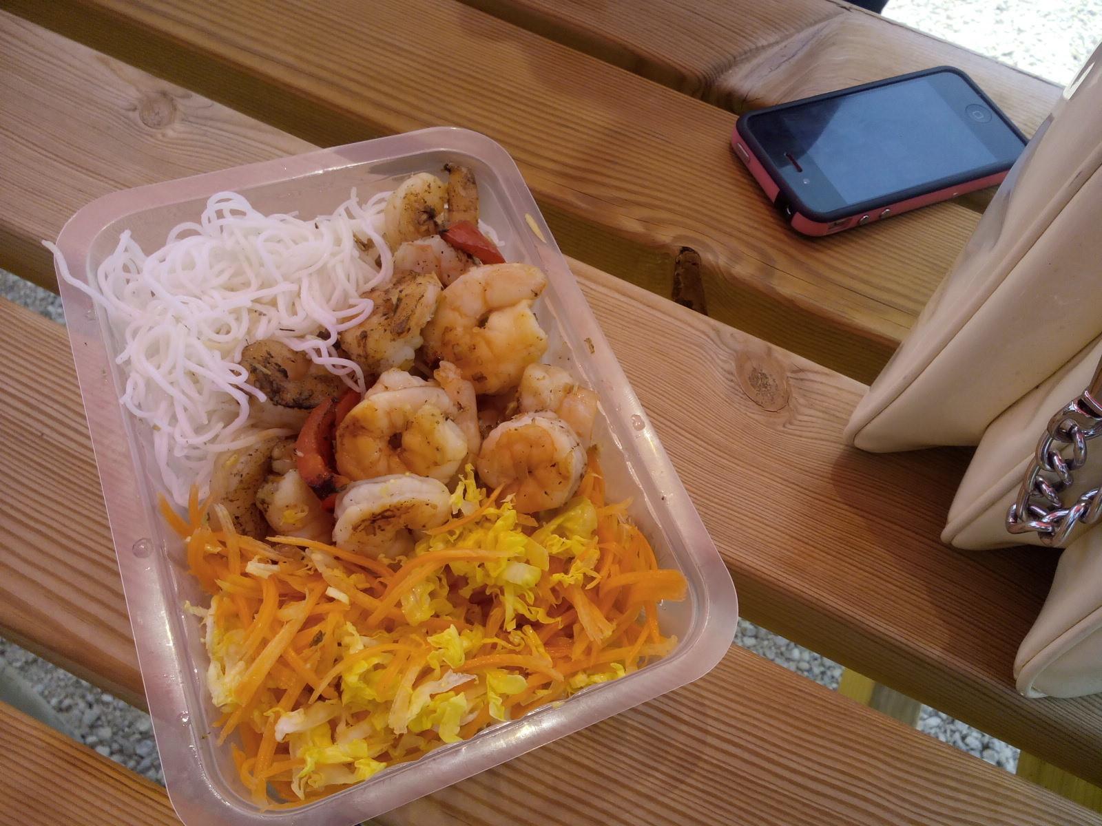 Crevettes Bun