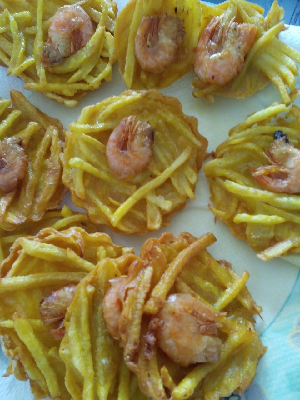 Croustillants de crevettes
