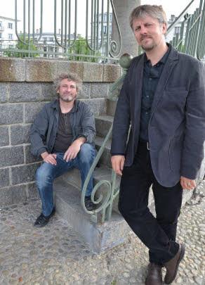 Briac et Arnaud Le Gouëfflec - cliché © Le Télégramme