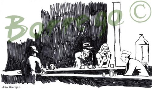 Mi homenaje a Edward Hopper