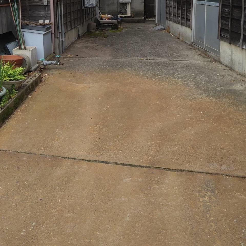 S様邸  浄化槽設置・  コンクリート工事