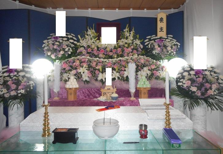 市民葬 生花祭壇