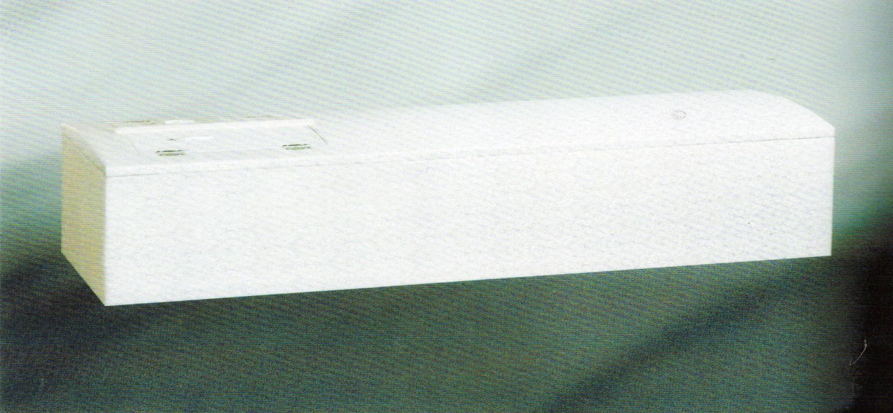 高級布張り棺