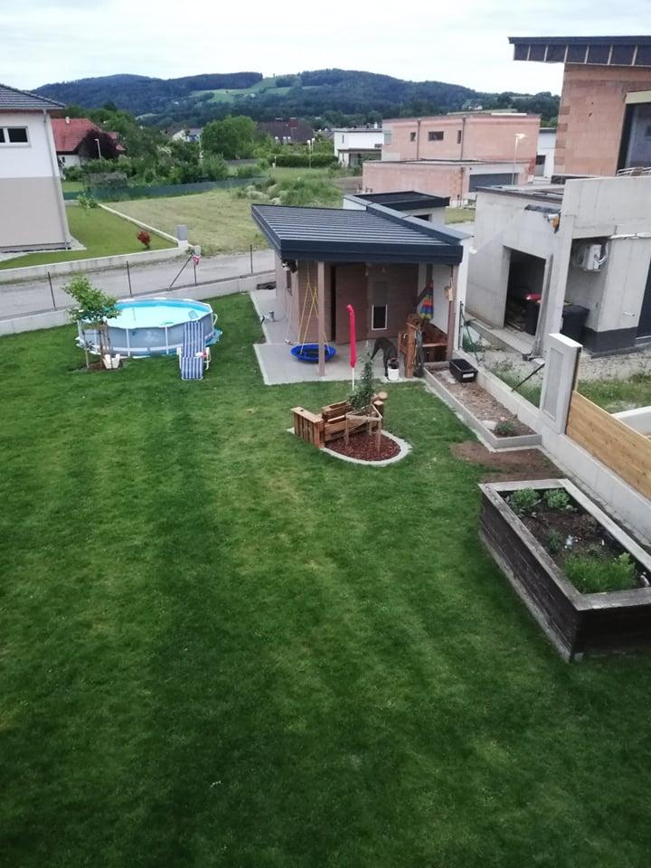 in diesem Gartenbereich wird unser Welpengarten entstehen, wenn Malea trächtig ist