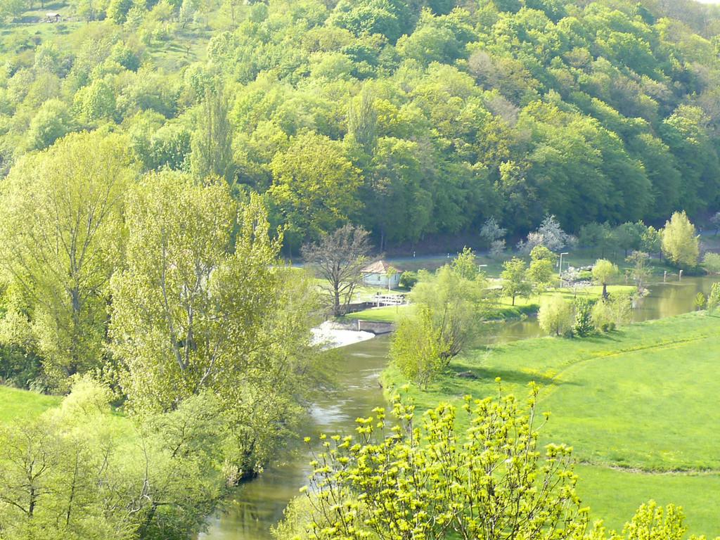 Umgebung - Blick auf Unstruttal - Tröbsdorf Richtung Wennungen