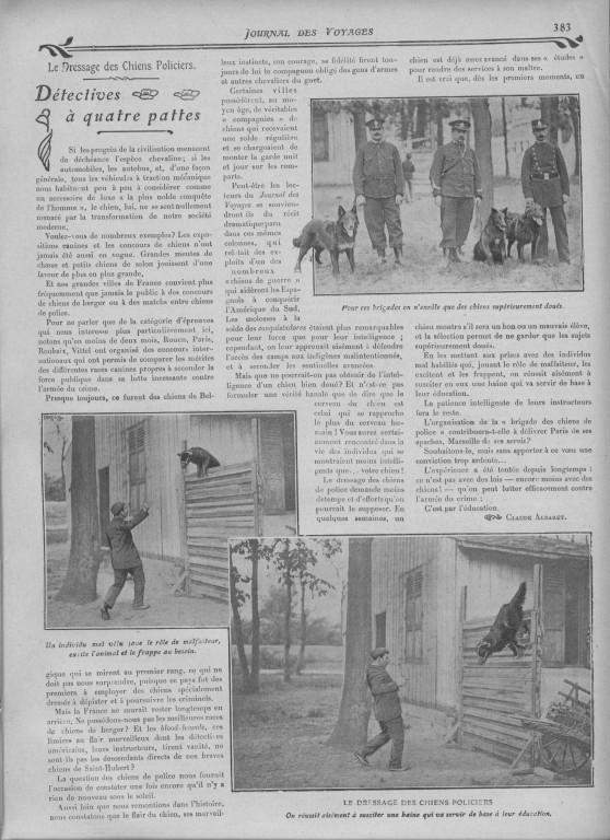 Journal des Voyages vom 17.10.1907