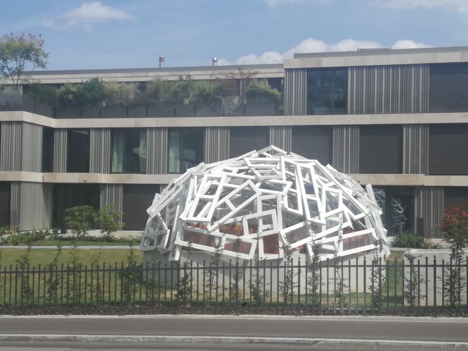 Kunstwerk in Zürich