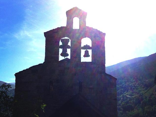 スペイン ピレネー ボイ谷