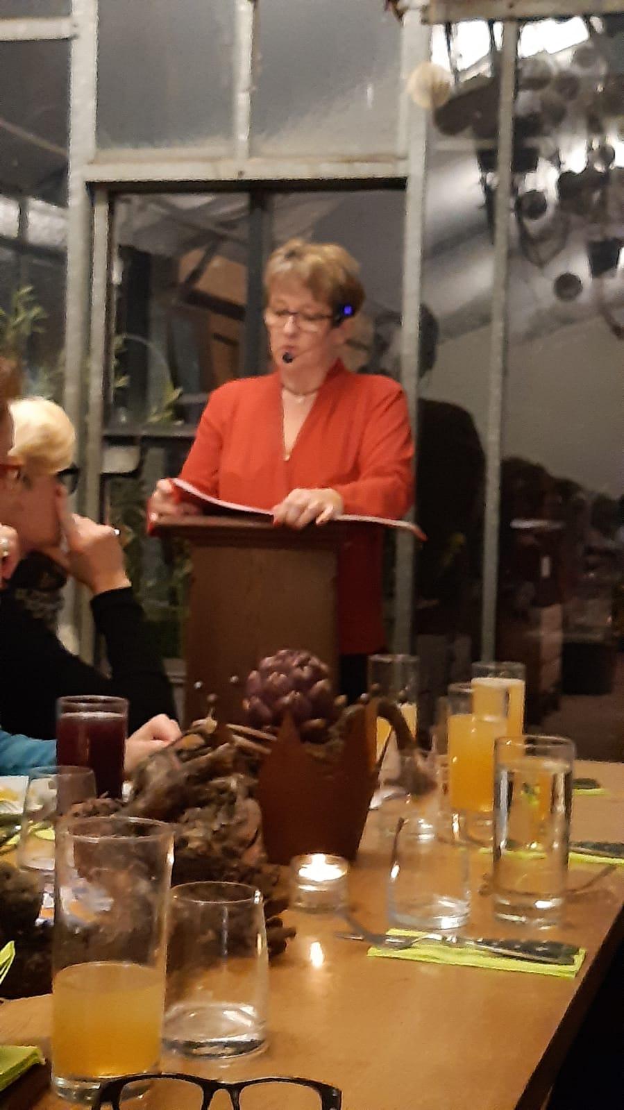 Gastgeberin Susanne Horn