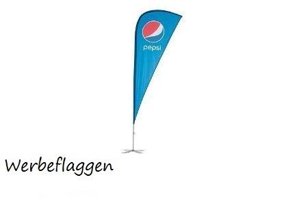 Werbeflaggen, Werbebanner, Sonnenschirme