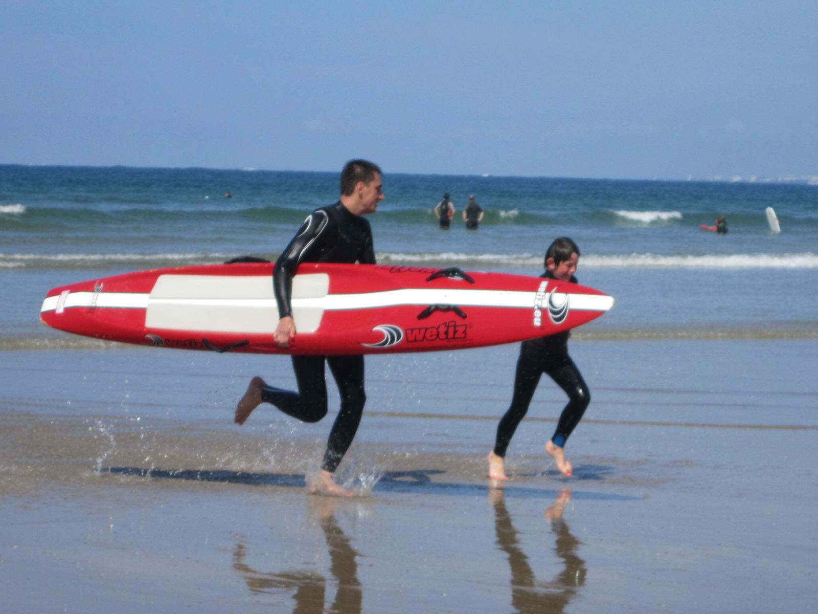 Initiation sauvetage côtier à partir de 8 ans