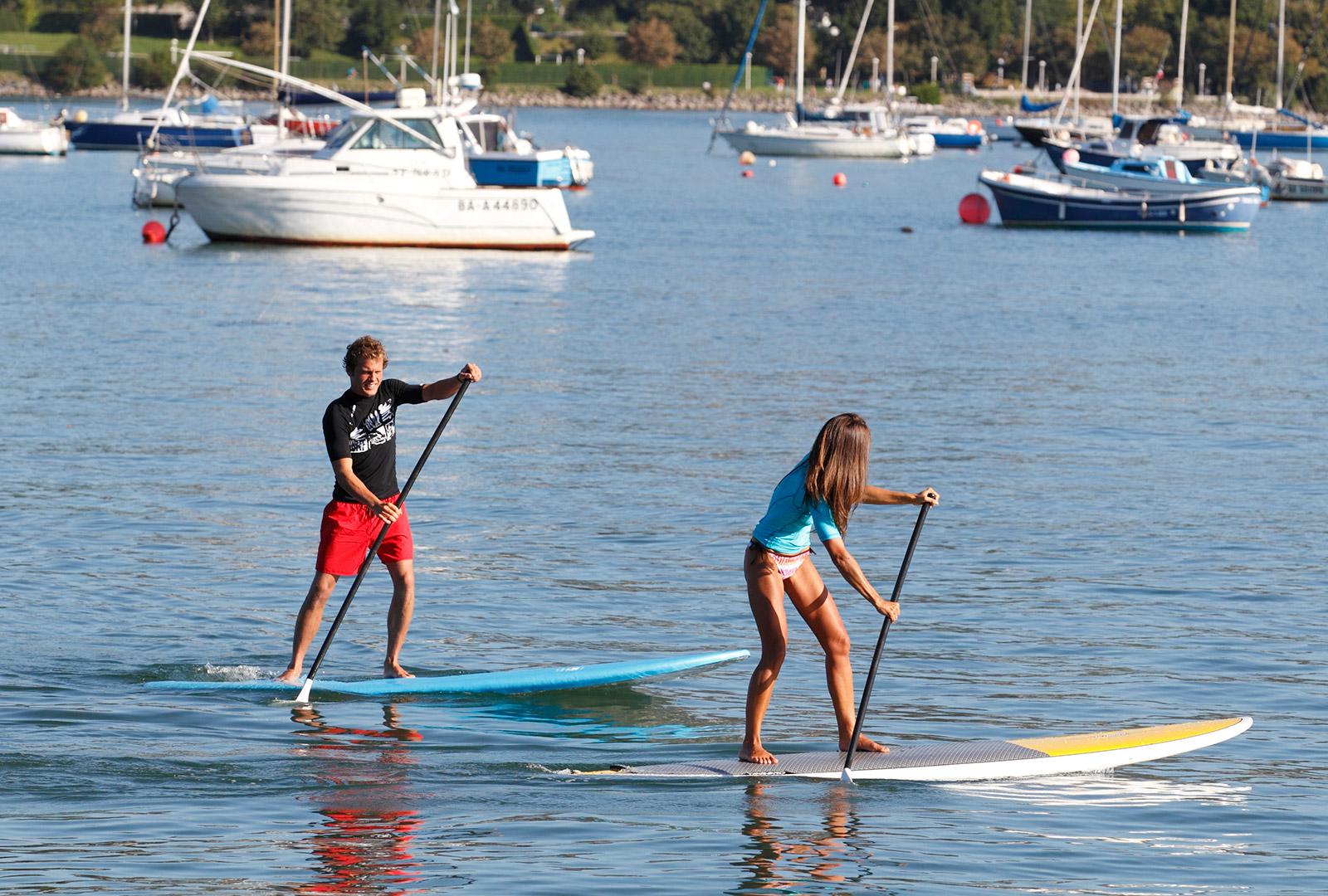 Prêt de stand up paddle - Quai de la Floride