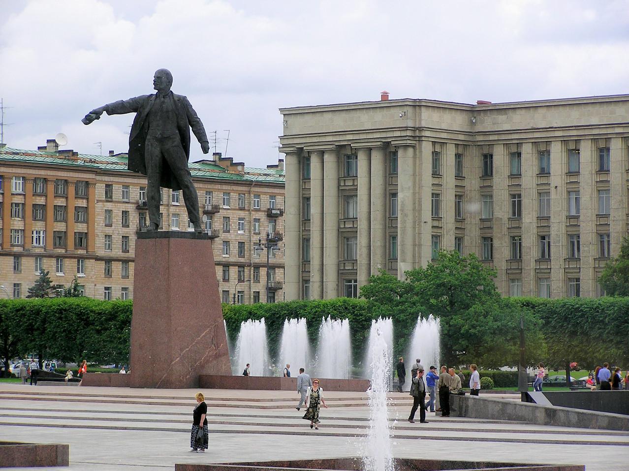Das ehemalige Leningrad ...