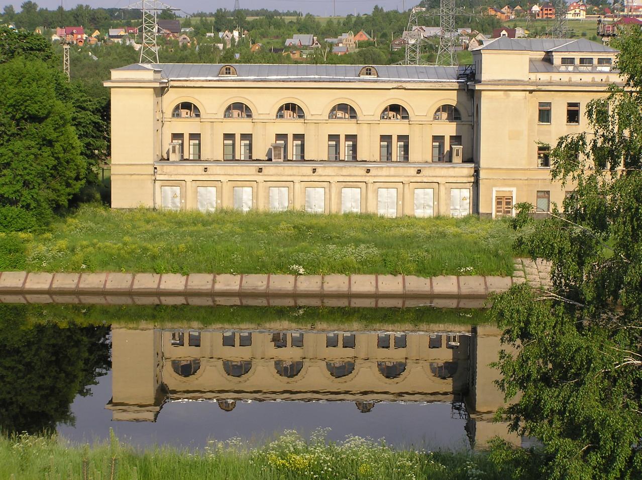 Kraftwerk bei Schleuse Nr.6