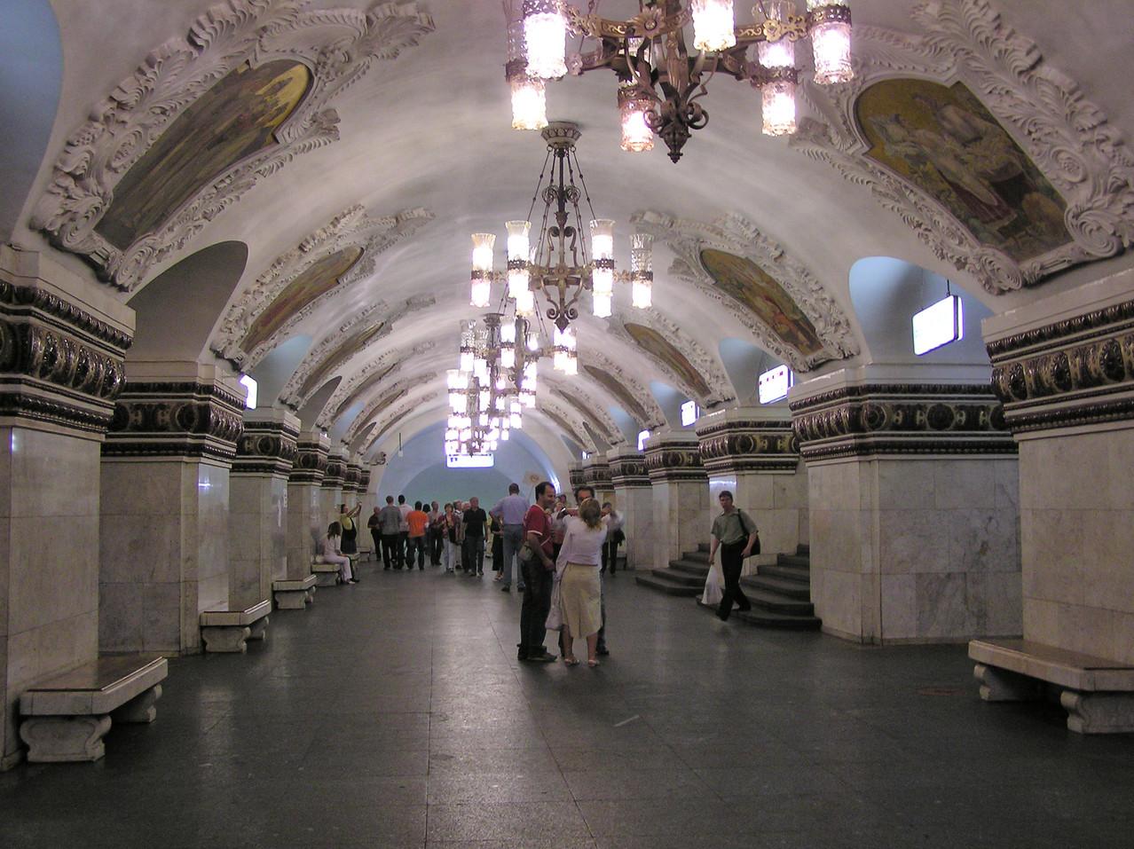 Auch im Untergrund gibt´s Paläste zu entdecken ...