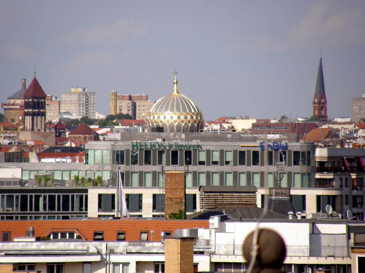 Kuppel der Synagoge