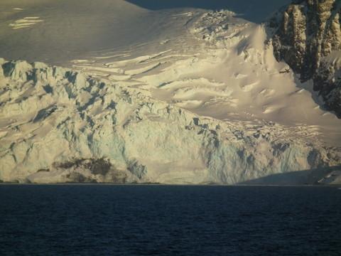 ... Gletscher bis ans Meer ...