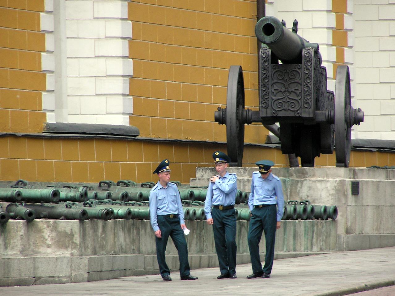 Kremlbewachung?