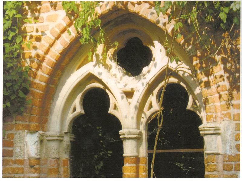Fenêtre du XIII° siècle