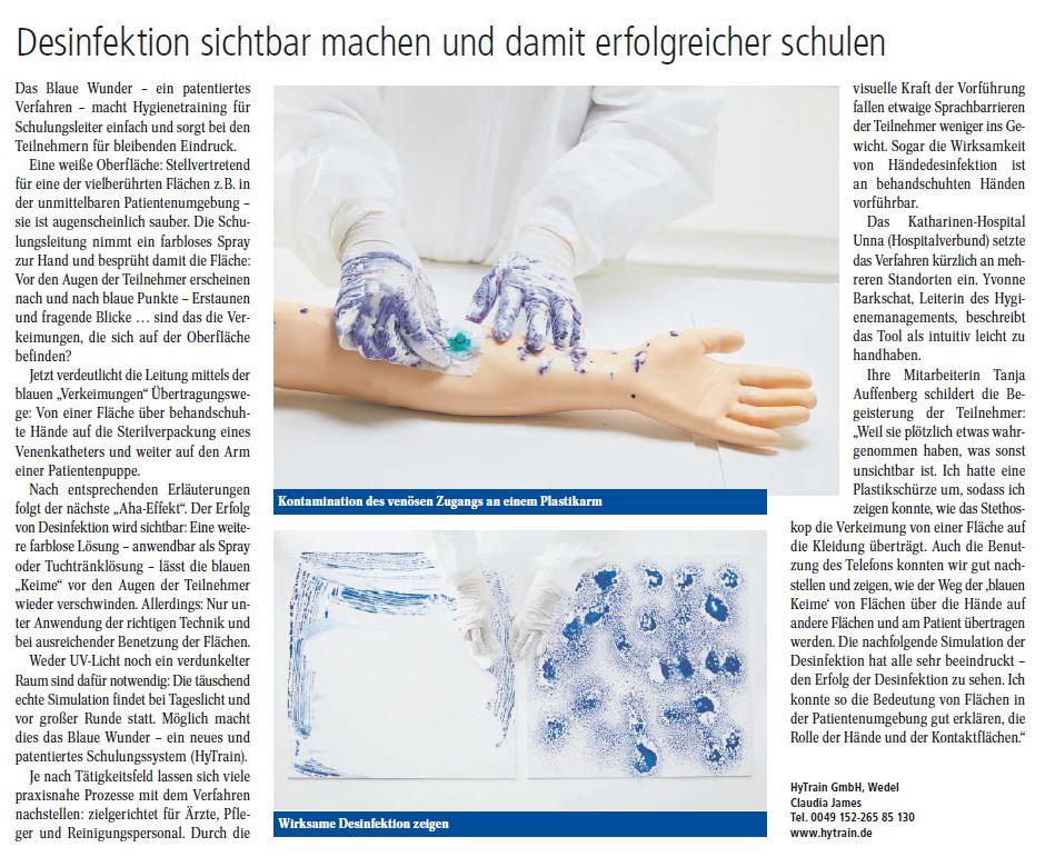 Veröffentlichung Print-Ausgabe 6/2020 Management & Krankenhaus