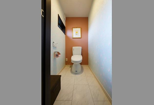 使いやすさと掃除のしやすさを考えたトイレ