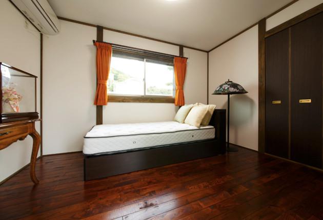 居室もリビングのイメージで統一。