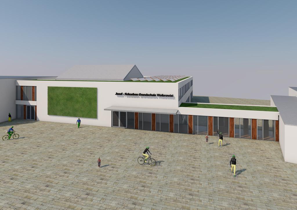 Erweiterung Josef-Schaeben-Grundschule in Weilerswist
