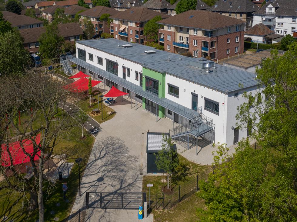 Neubau der Kindertagesstätte Förderstraße Essen