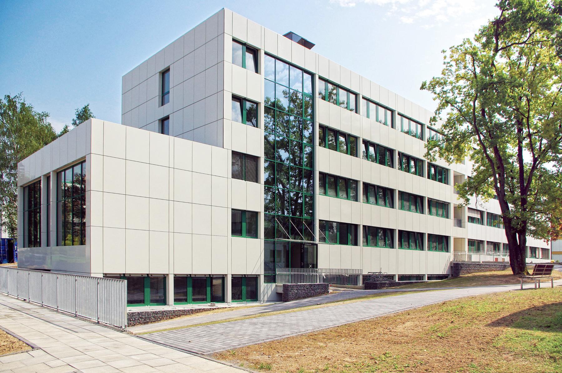 Erweiterung Gebäude 21