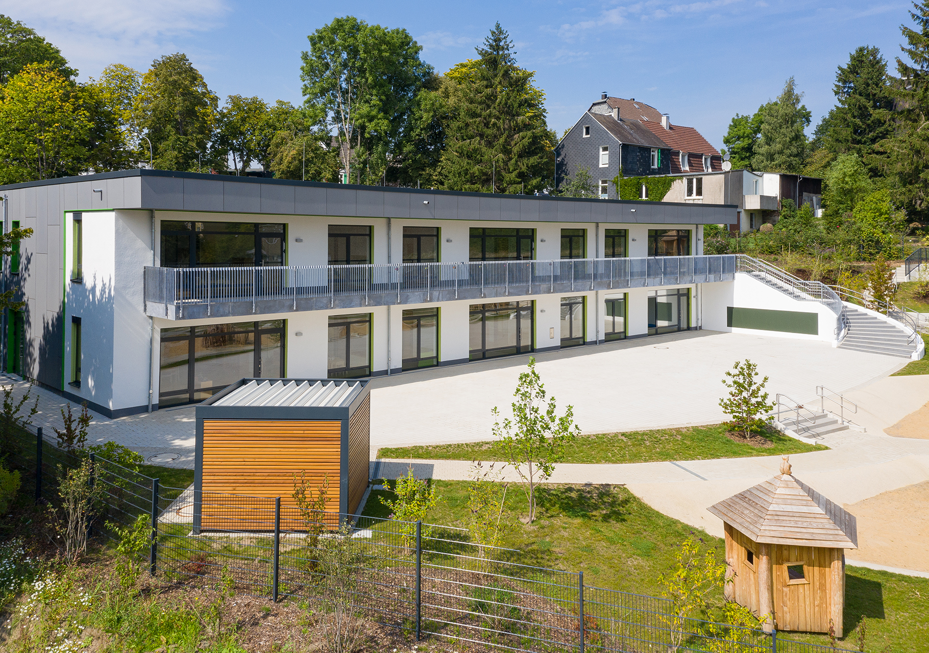 Neubau der Kindertagesstätte Hatzfelder Straße Wuppertal
