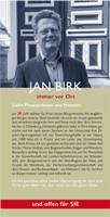 2 Seiten Flyer Jan Birk Bürgermeisterwahl