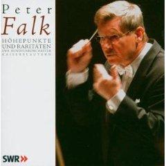 Peter Falk - Höhepunkte und Raritäten - SWR Rundfunkorchester Kaiserslautern