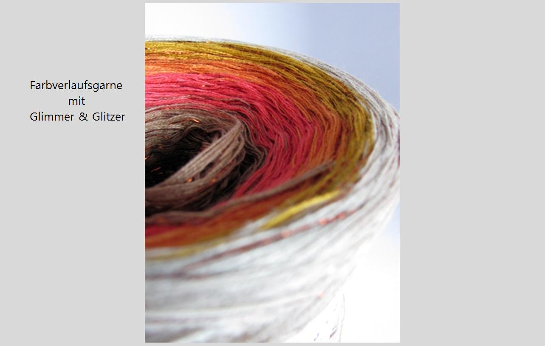 Farbverlauf mit Lurex