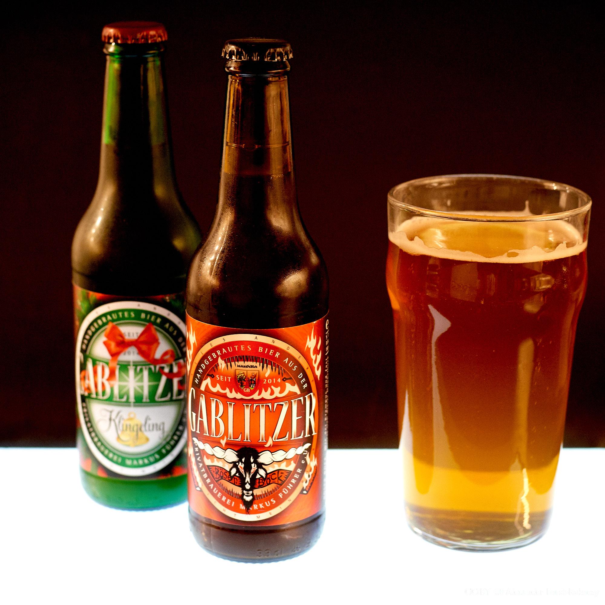 Alfora:Gablitzer Weihnachts-Bier (Böser Bock und Klingeling)