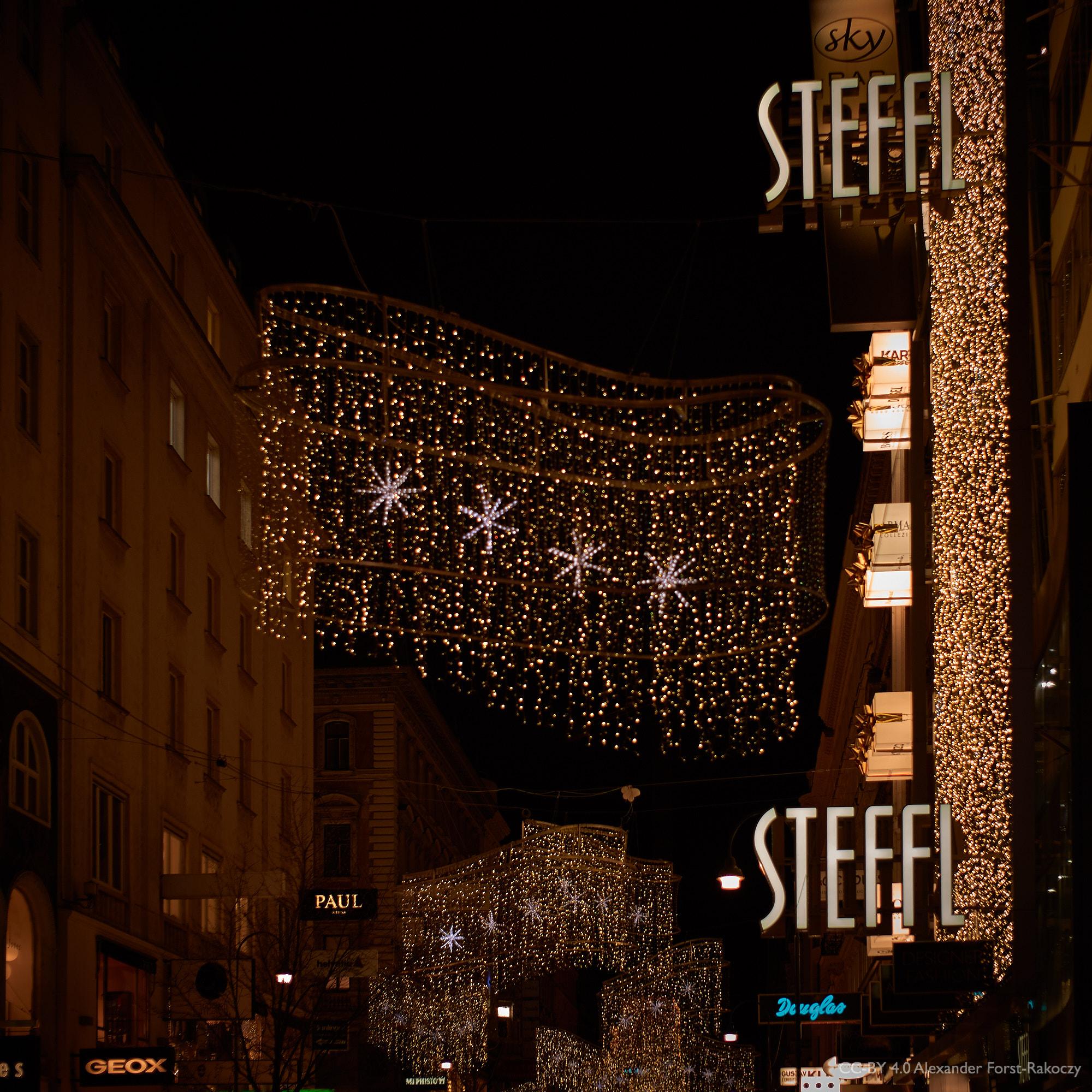 Alfora: Weihnachtsbeleuchtung auf der Kärtner Straße