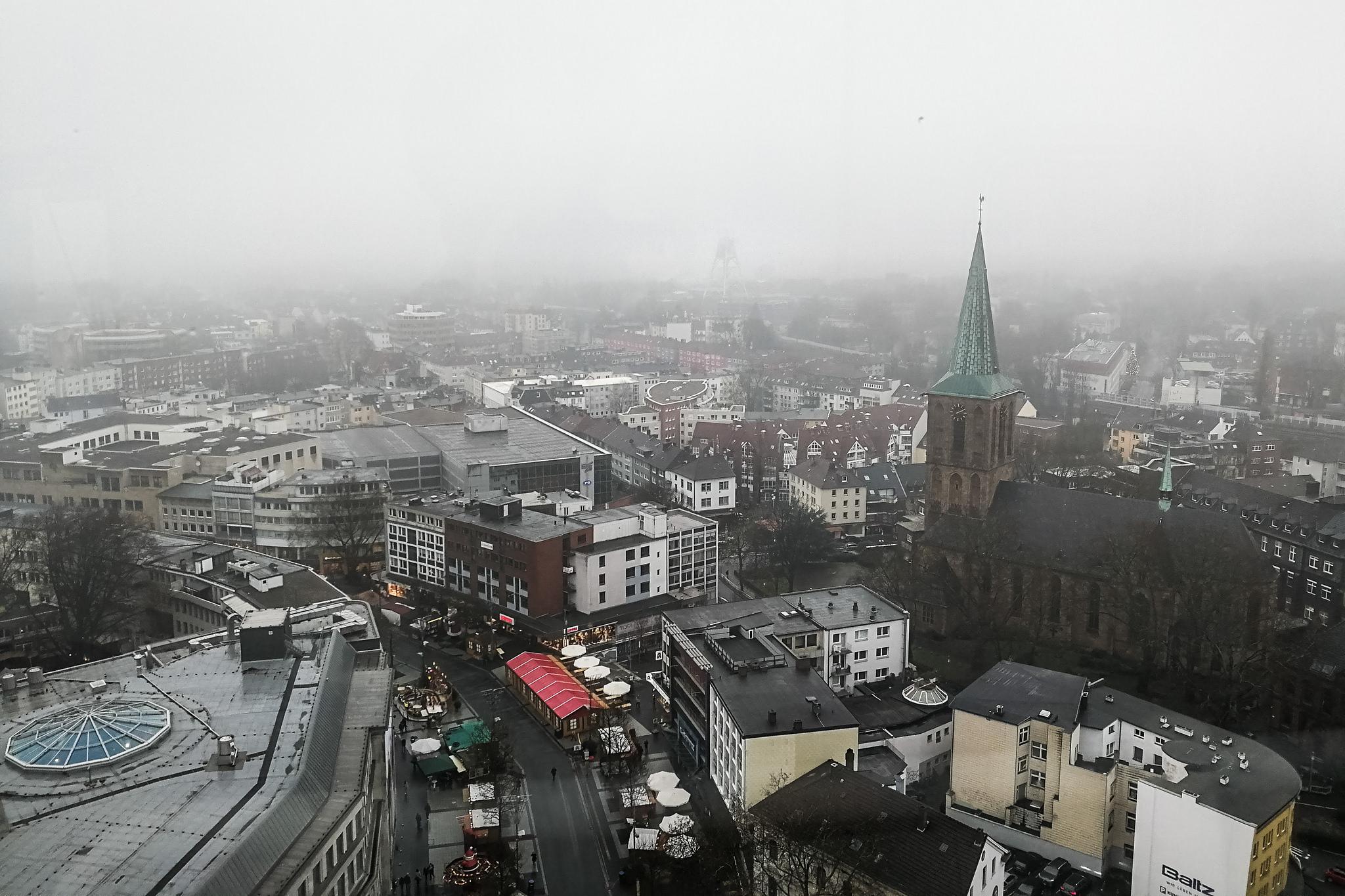 Kamerakata: Über den Dächern von Bochum