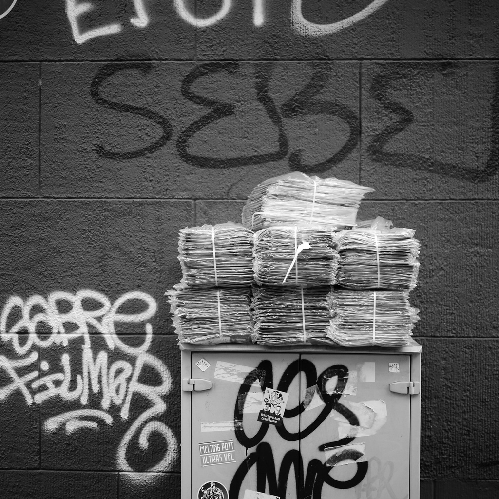 Kamerakata: Zeitungen