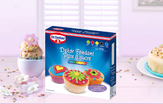 Kochen & Genießen Dr Oetker Mini-muffinform 12 Cups Back-idee Kreativ Harmonische Farben