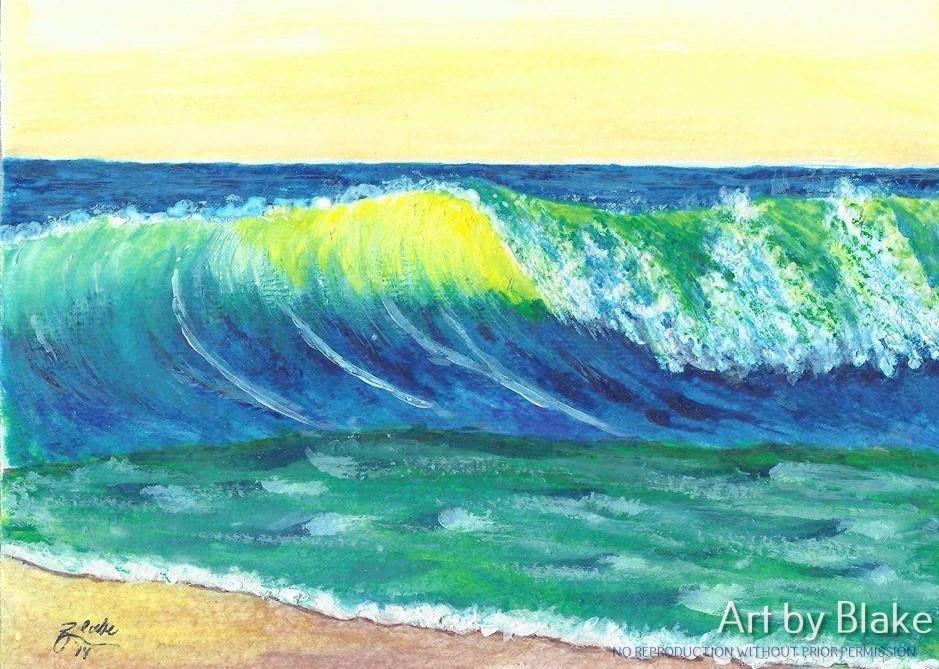 Waves by Blake 2014